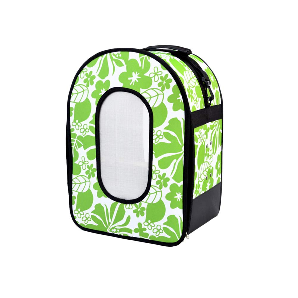 Balacoo Bird Carrier Pet Travel Carrier with Perch Premium Under Seat (Green) by Balacoo