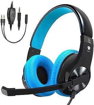 STOON - Auriculares de diadema para videojuegos para PS4, Xbox One ...