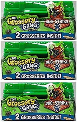 THE GROSSERY GANG BUG STRIKE ARMY CRATE 2-PACK (BUNDLE OF 3)
