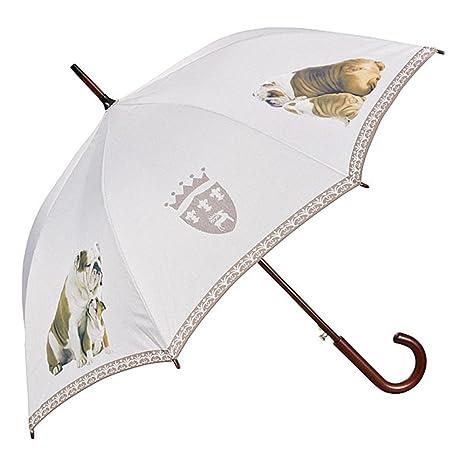 VON LILIENFELD Paraguas Automática Mujer Motivo Perro Bulldogg inglés