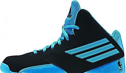 adidas Performance - Zapatillas de baloncesto para niño negro/azul ...