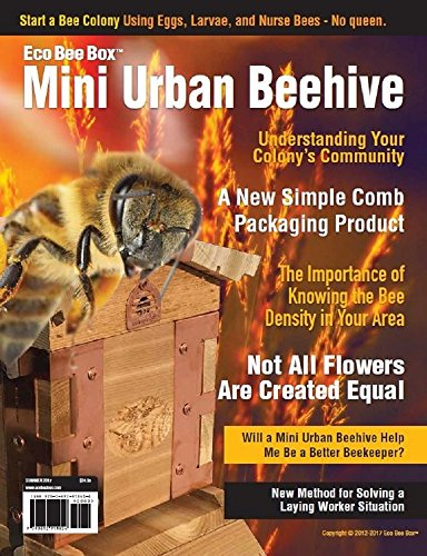 Eco Bee Box Mini Urban Beehive: MUB (Summer 2017) (Beehive Spring)