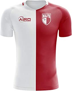 Airo Sportswear 2018-2019 Malta Home Concept Football Soccer T-Shirt Maglia