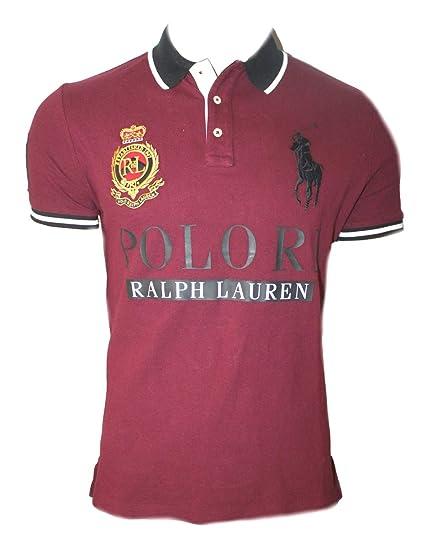 d651582f272a Polo Ralph Lauren Mens Cotton Short Sleeve Big Pony T Shirt TV73 (Large