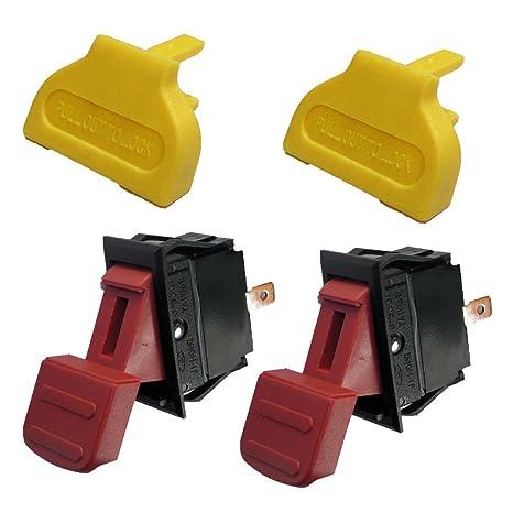 "Ridgid TS2400LS 10/"" Table Saw Switch /& Key 826347-826122"