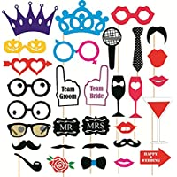 SYGA Party Props Set of 31 Funny Props Paper Craft Item