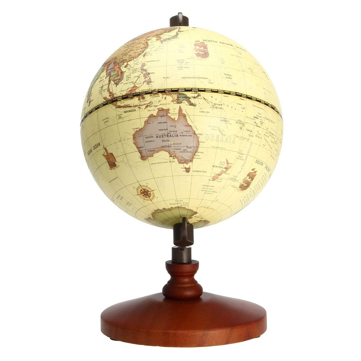 Bloomerang 5.5 Vintage Desktop Table Rotating Earth World Map Globe on world globe, world war, world military, world hunger, world most beautiful nature, world of warships, world wide web, world wallpaper, world travel, world history, world culture, world earth, world shipping lanes, world atlas, world records, world flag, world glode, world projection, world statistics, world border,