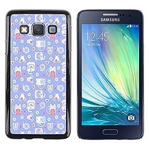 Dragon Case - FOR Samsung Galaxy A3 - the most important thing in life - Caja protectora de pl??stico duro de la cubierta Dise?¡Ào Slim Fit