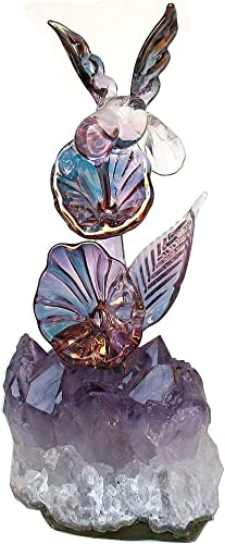 Prochaska Gallery Hand Blown Glass Hummingbird Figurine