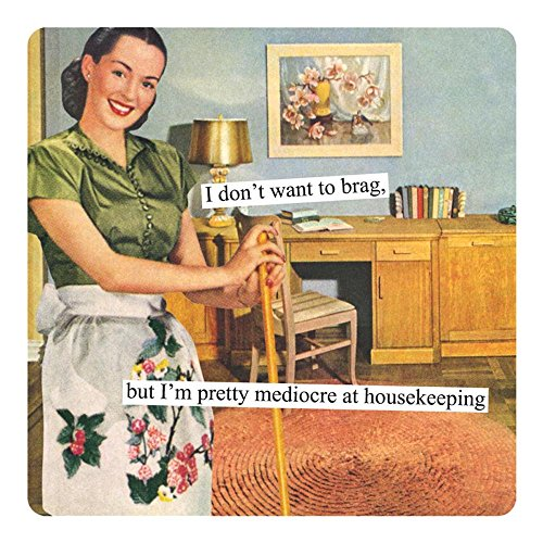 Anne Taintor Square Refrigerator Magnet - I Don't Want to Brag