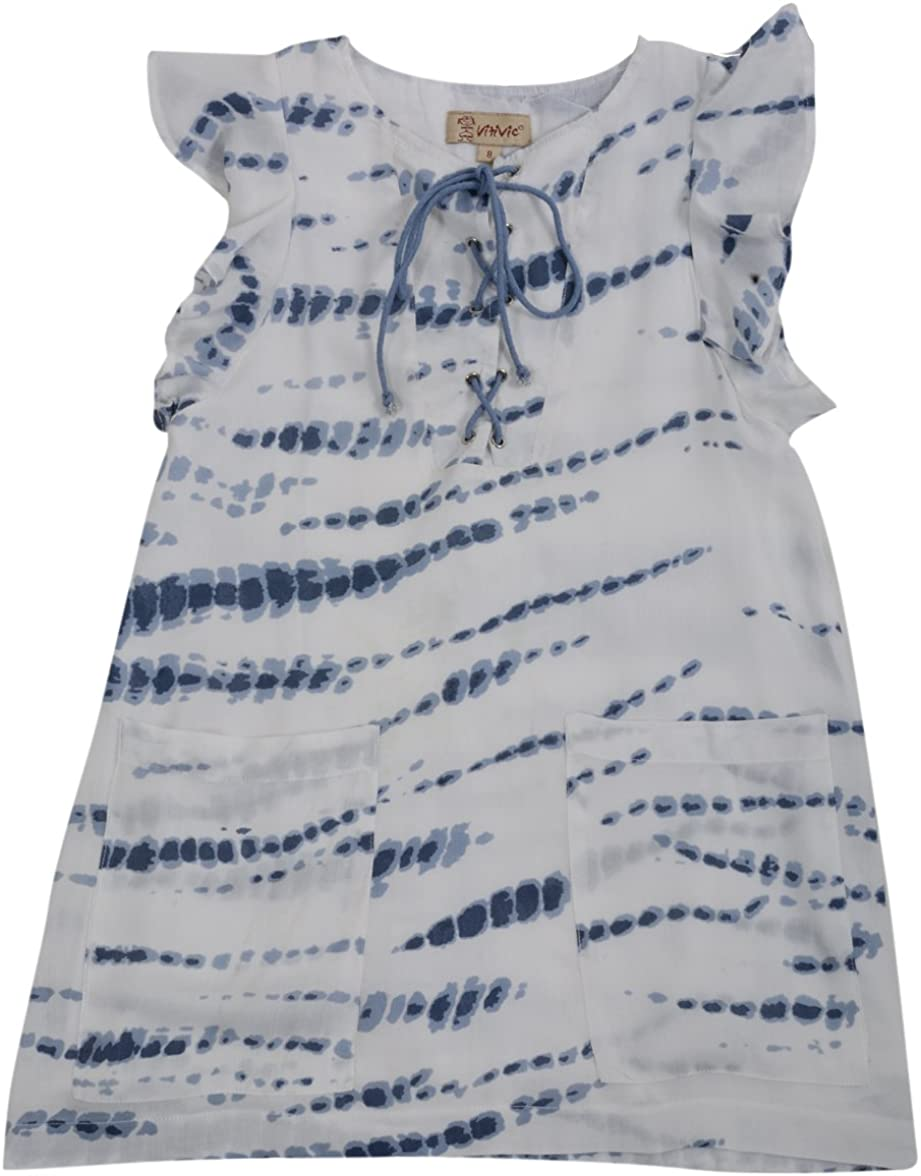 VITIVIC M/ädchen Strandkleid NARVONNA Azul