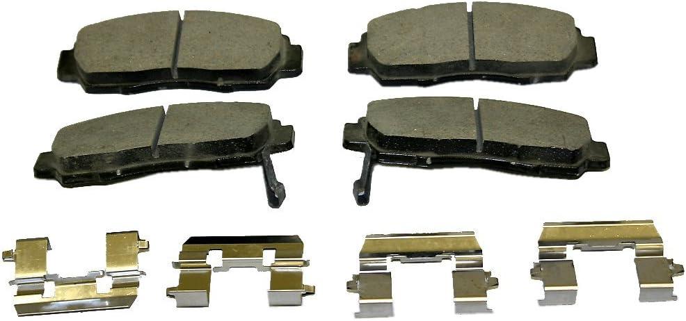 Monroe CX787 Ceramic Premium Brake Pad Set