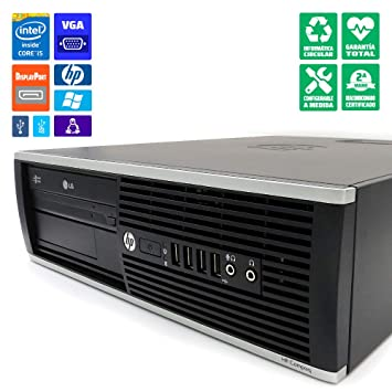 HP 8300 SFF Ordenador sobremesa/Torre Intel Core i5-3470, 16GB RAM ...