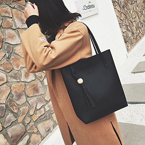 Marrón marrón Negro O1243R14SR Taynafy Bolso Evxq1HBw