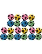 Tandou 20Non-Noise Katze Eva Ball Weicher Schaumstoff Fußball Spielen Bälle Katzenbaum Kratzbaum Spielzeug