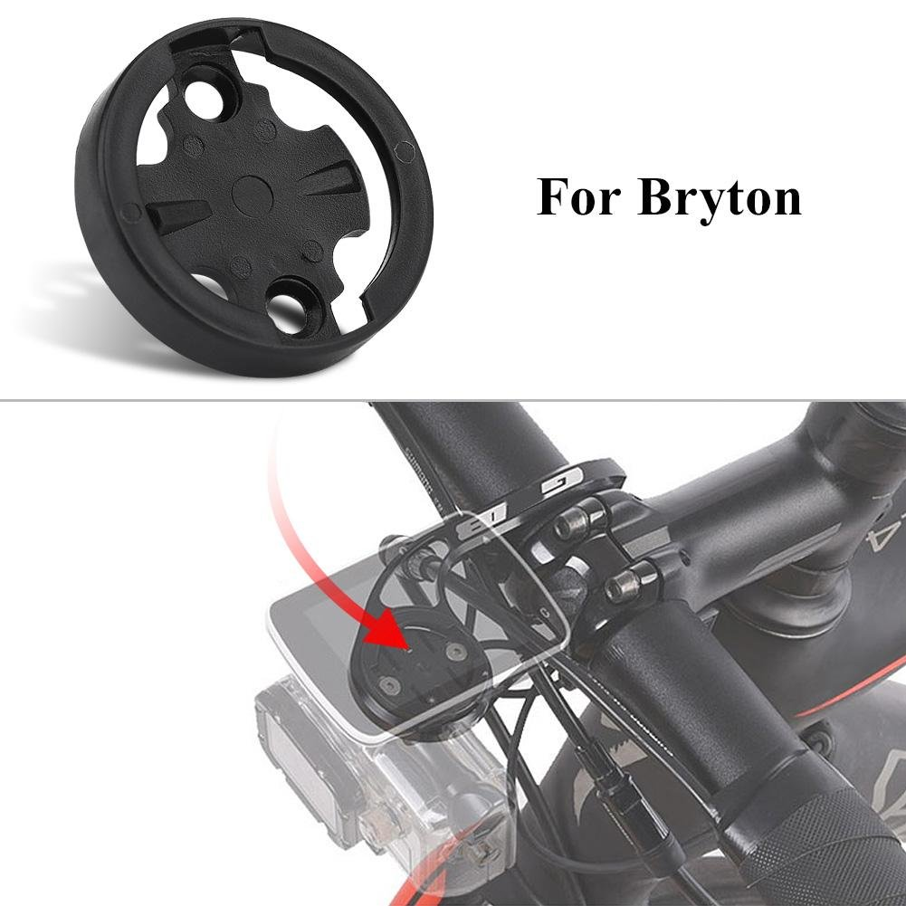 Plastic Bike Computer Mount Adapter Base for Cycling Computer VGEBY Out Front Bracket