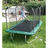 Summit 14' Rectangle Trampoline with Safety...
