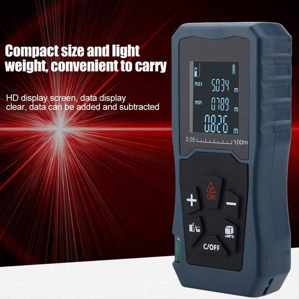 Tel/émetro L/áser digital Tel/émetro Medidor de distancia Buscador de rango l/áser para medici/ón de distancia S40