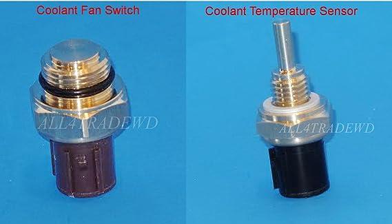 Cooling Fan Switch Temp Sensor For Honda Acura Isuzu 37760-P00-004 37870-PJ7-003