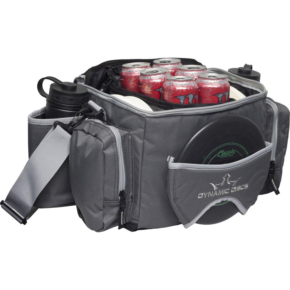 Dynamic Discs Soldier Cooler Disc Golf Bag - Insulated Cooler Compartment - Adjustable Shoulder Strap - 2 Drink Holders & Pockets by Dynamic Discs
