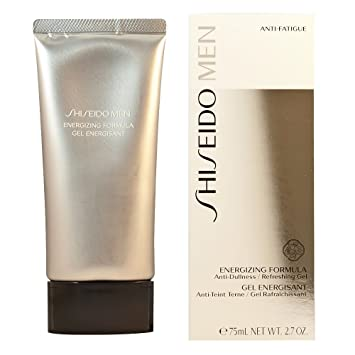6 Pack - Shiseido  Men Energizing Formula Gel for Men 2.7 oz Dermactin-TS Facial Skin Firming Mask