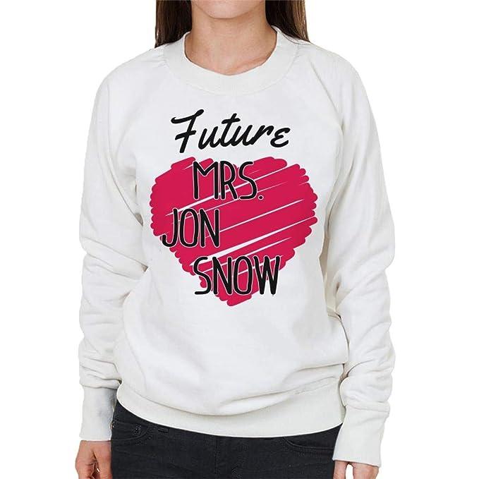 Coto7 Future Mrs Jon Snow Womens Sweatshirt: Amazon.es: Ropa y accesorios