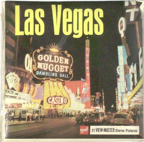 Vintage Las Vegas Nevada 3d View-Master 3 Reel Packet by View Master (Image #2)