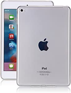 iPad Pro 10.5 Case Clear, Awsaccy(TM) Thin TPU Flexible Soft Rubber Silicon Gel Transparent Shockproof Protective Case Cover for Tablet iPad Pro 2017 Release 10.5 inch Verizon
