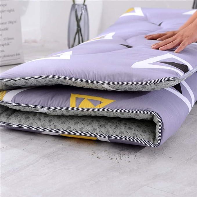 Amazon.com: Colchón de algodón transpirable japonés para ...