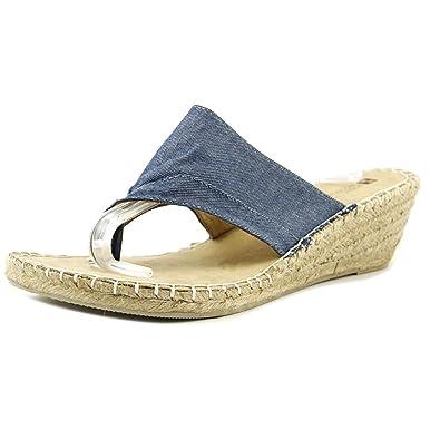 White Mountain Bandana Thong Wedge Sandal (Women's)