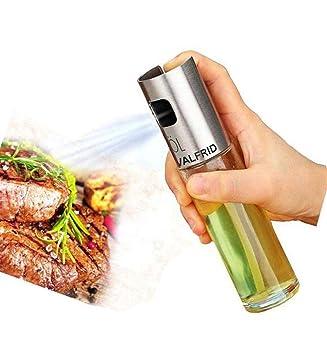Portátil pulverizador de aceite de oliva aceite Mister cocina y parrilla aceite de cocina pulverizador de