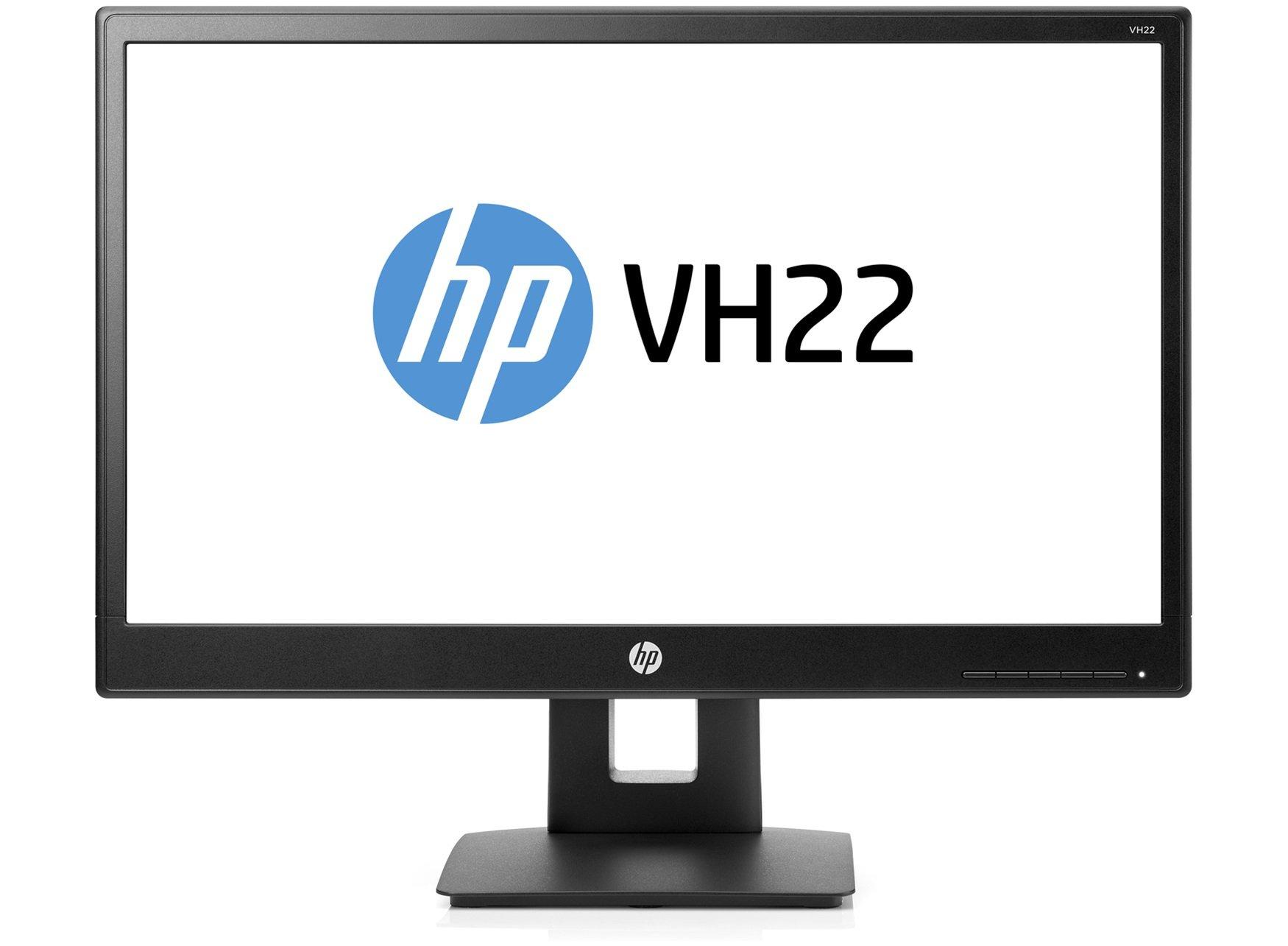 HP 21.5-Inch Screen LED-Lit Monitor Black (V9E67A6#ABA)