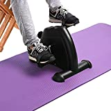 Arm and Leg Pedal Exerciser with LCD Display Mini Exercise Bike Indoor Fitness Cycling Resistance Adjustable