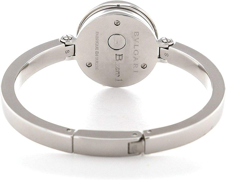 Bvlgari B. Zero1 Negro Dial Acero Inoxidable Acero Damas Reloj 102419: Amazon.es: Relojes