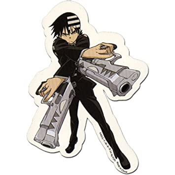 Soul eater death the kid sticker
