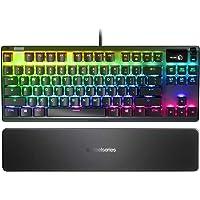 SteelSeries Apex 7 TKL - Kompakt formfaktor - Mekaniskt gamingtangentbord – OLED Smart Display – USB-genomkoppling och…