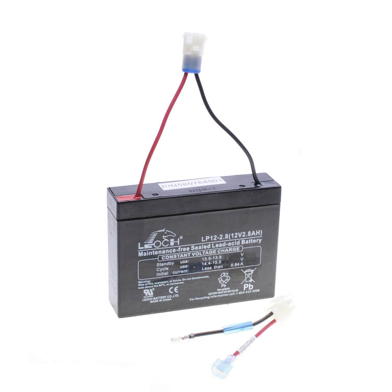 Batería sin mantenimiento 132 x 32 x 98 mm autoportée MC Culloch ...