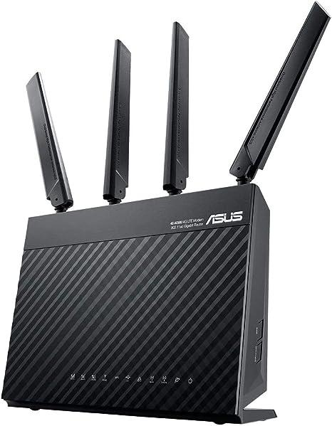 ASUS 4G-AC68U - Router inalámbrico Gigabit AC1900 4G LTE (Cat 6, indicador señal LTE, Servidor y Cliente VPN, USB 3.0, compatible con Ai Mesh wifi): Asustek: Amazon.es: Informática