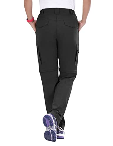 Unitop Womens Quick Dry Convertible Cargo Pants