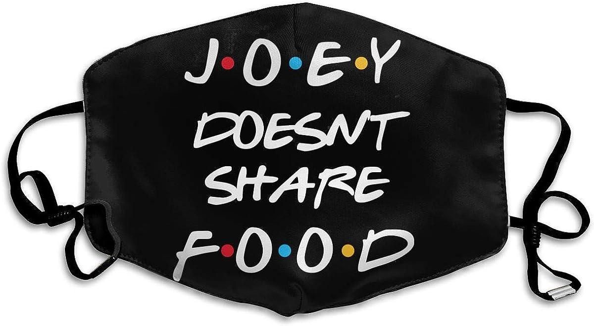 Friends Joey Doesn'T Share Food Dustproof Scarf Sunscreen Windproof Headscarf