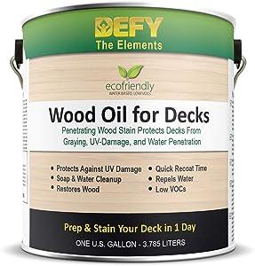 DEFY Wood Oil for Decks