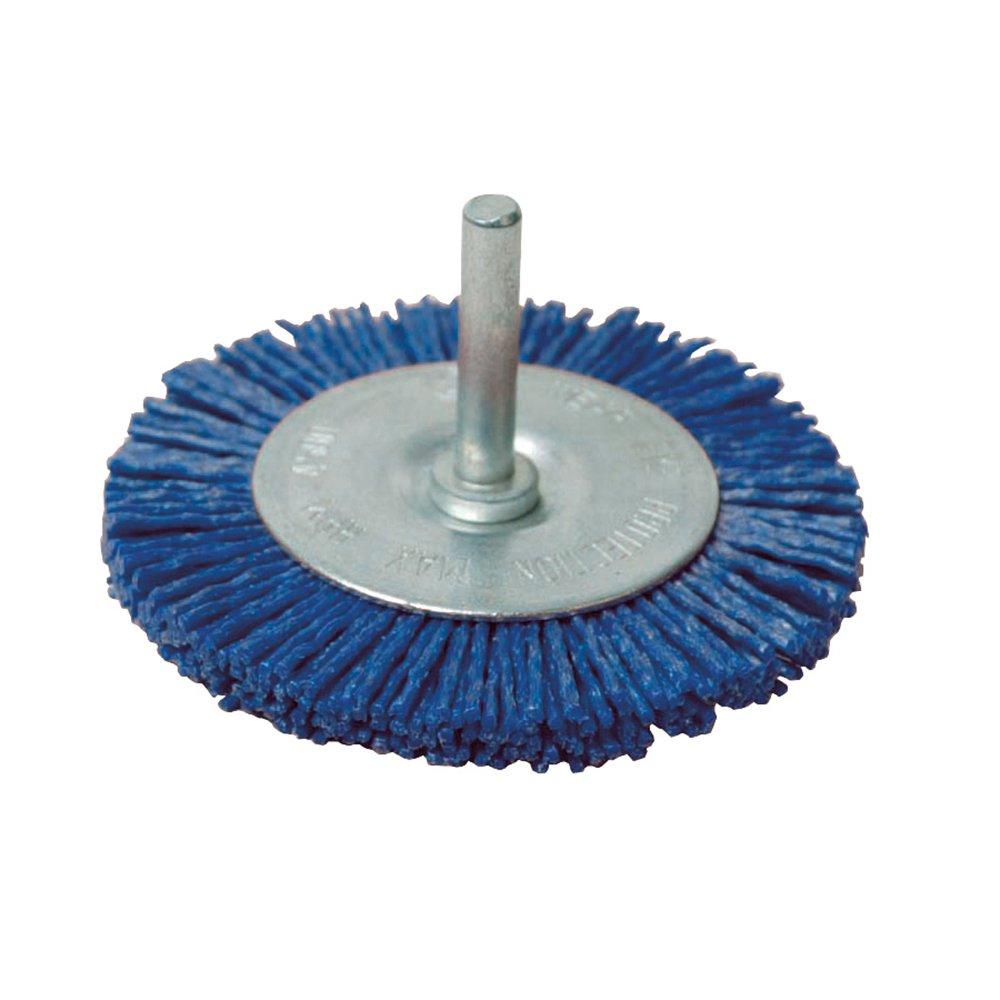 Fino, 100 mm Silverline 218021 Cepillo circular abrasivo con filamentos
