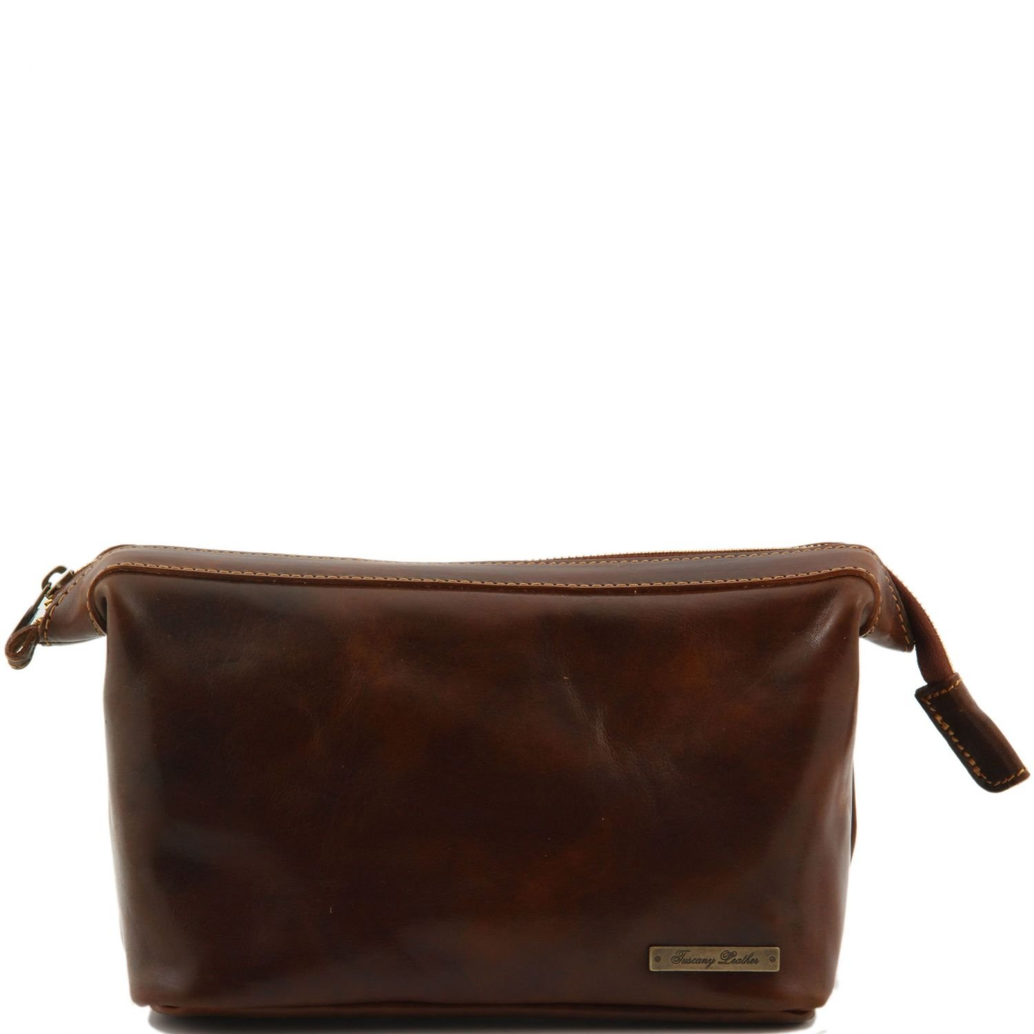 Tuscany Leather Ronny - Leather Beauty Case by Tuscany Leather
