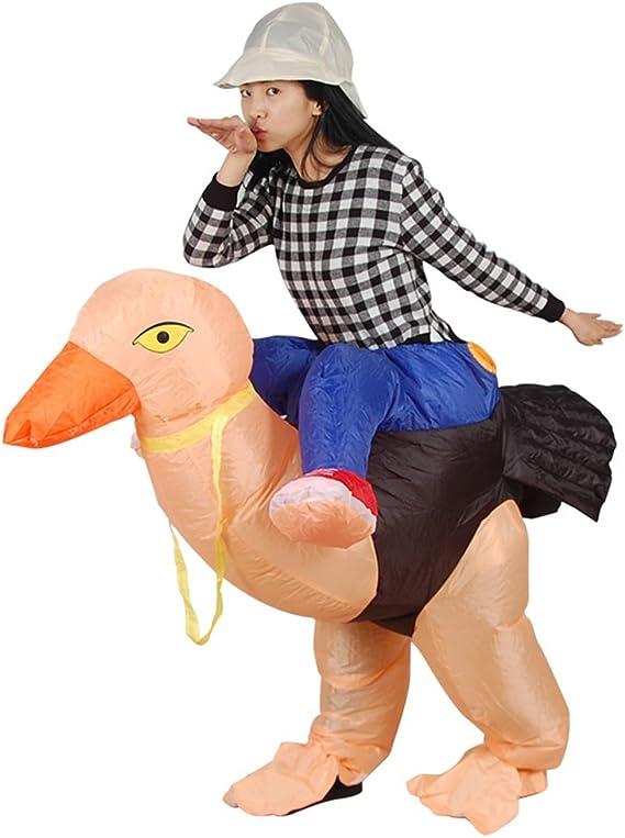 GUAITAI - Disfraz de Avestruz Hinchable para Disfraz de Animales ...