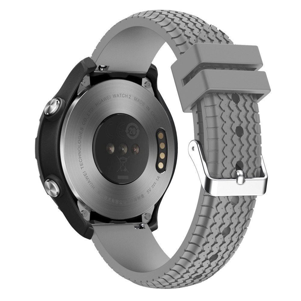Magiyard para Huawei Watch 2, Correa de Reloj Correa de muñeca de Repuesto Silicagel Soft Band Strap