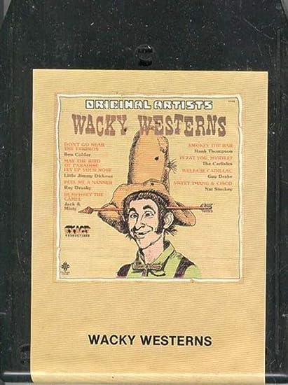 Amazon com : Wacky Westerns -34464 8 Track Tape : Everything Else