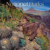 National Parks 2019 12 x 12 Inch Monthly Square Wall Calendar with Foil Stamped Cover, USA United States of America Scenic Nature (English, French and Spanish Edition)
