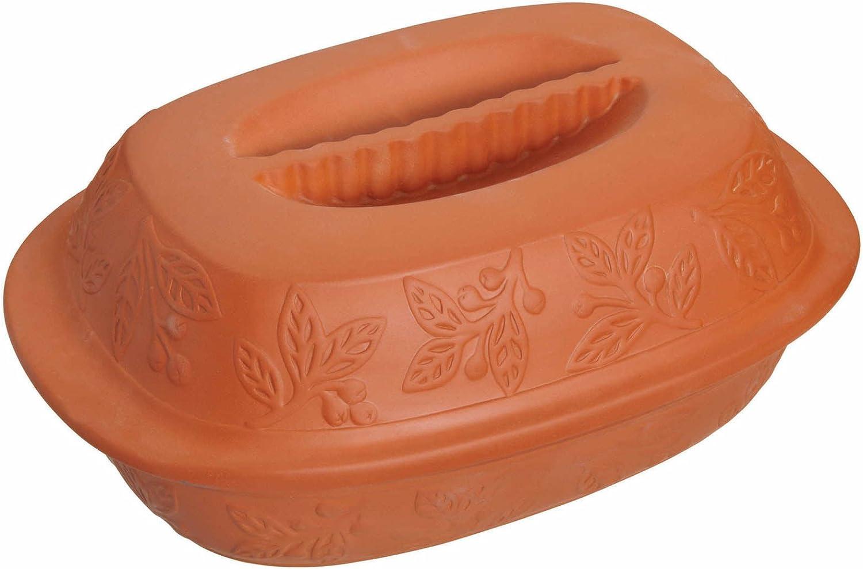 Kitchen Craft Terracotta - Fuente de terracota para asar
