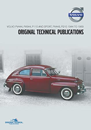 workshop manual replacement part catalogue dvd volvo pv amazon co rh amazon co uk Volvo 122 1957 Volvo 444