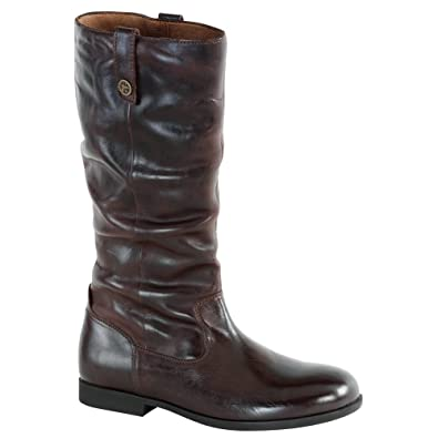 0d6819cb1594c Birkenstock Women's Sarnia High Boot Espresso Leather Size 38 M EU ...